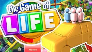 getlinkyoutube.com-RICHEST MAN IN THE WORLD - THE GAME OF LIFE (Board Game)