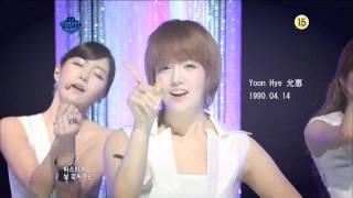 getlinkyoutube.com-[HD] 110623 Rainbow - Sweet Dream (成員介紹)