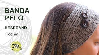 getlinkyoutube.com-Tutorial Banda Pelo Crochet o Ganchillo Fácil