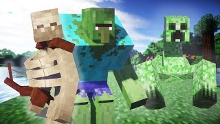 getlinkyoutube.com-Minecraft MUTANT CREATURES MOD