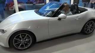 getlinkyoutube.com-Mazda MX-5 (Miata) ND presentation @ Mazda Belgium in 4K Video