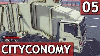 getlinkyoutube.com-CityConomy #5 PAPIER und PAPPE sammeln Stadt Service Simulator