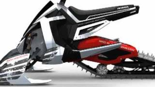 getlinkyoutube.com-Honda Concept Snowmobile