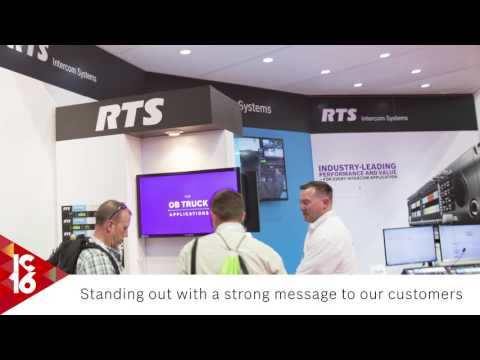 RTS at InfoComm 2016