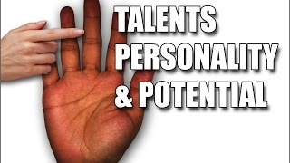 getlinkyoutube.com-TALENTS PERSONALITY & POTENTIAL: Female Palm Reading Palmistry #113