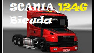 getlinkyoutube.com-Euro Truck Simulator 2- Mod Scania 124 G + Diretão