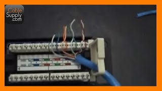 getlinkyoutube.com-How to punch down a 12port patch panel