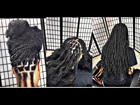 #233. WAIST LENGTH FAUX LOCKS + PARTING