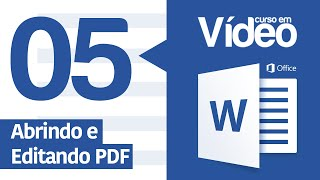 getlinkyoutube.com-Curso Word #05 - Abrindo e Editando PDF no Word 2016