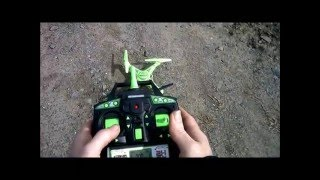getlinkyoutube.com-Glow in the Dark Striker General Flight Review World Tech Toys