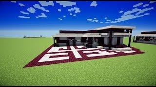 getlinkyoutube.com-TUTO Maison moderne/ Minecraft