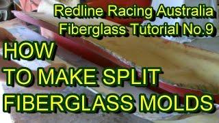 getlinkyoutube.com-How to Make Fibreglass Split Moulds