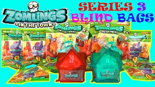 getlinkyoutube.com-ULTIMATE SURPRISE  ZOMLINGS TOYS Series 3 Huge Surprise Blind Bags Toy Review Unboxing