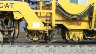 getlinkyoutube.com-DYNA-CAT railroad track tamping machine