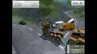 getlinkyoutube.com-Farming simulator 2013: Convoi exceptionnel n°2