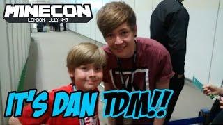 getlinkyoutube.com-Ethan meets DanTDM at Minecon 2015!!! It's EPIC!!!!