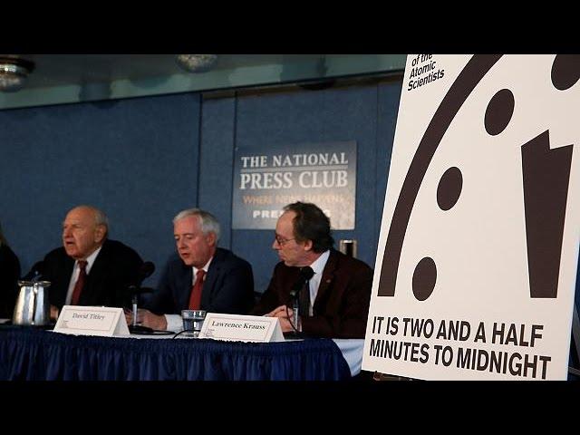 Weltuntergang rückt näher - Wissenschaftler stellen Doomsday Clock