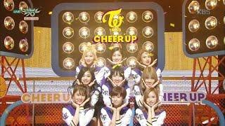 getlinkyoutube.com-뮤직뱅크 - 트와이스, 눈을 뗄 수 없는 컴백무대! 'Cheer Up'.20160429