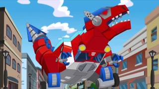 getlinkyoutube.com-Transformers Rescue Bots Optimus is Captured