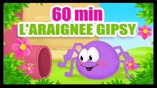getlinkyoutube.com-L'araignée Gipsy - 60 min de comptines des Titounis !