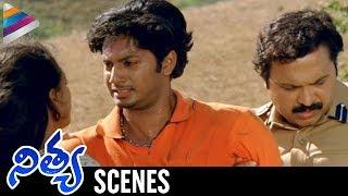 getlinkyoutube.com-Nithya Movie Scenes - Nitya Menon trying to save Rejith - Revathi, Shweta Menon