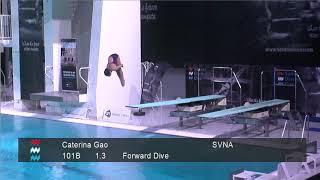 Girls C 1m - Senet Diving Cup 2018