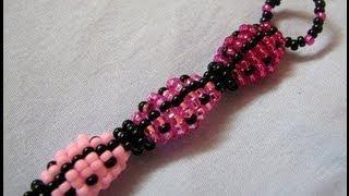 getlinkyoutube.com-Ombre Pink Ladybug Keychain!