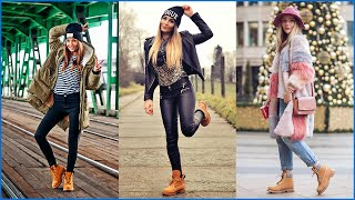 getlinkyoutube.com-How to Wear Casual Outfits with Timberland Boots