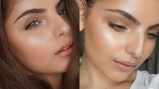 getlinkyoutube.com-STROBING/HIGHLIGHTING EXPLAINED! - Full Makeup Tutorial