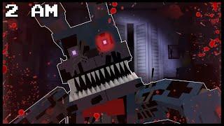 getlinkyoutube.com-Minecraft FNAF - Nightmare Bonnie | 2 AM (FNAF Minecraft Roleplay)