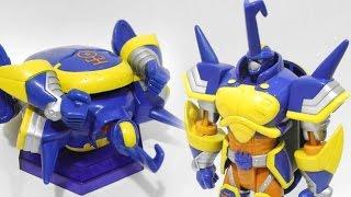 getlinkyoutube.com-Bandai Digimon Frontier Toys-Spirits of Thunder/Beetlemon(デジモンフロンティア玩具-雷のスピリット-人形/ブリッツモン)