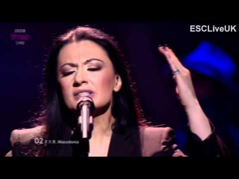 "Eurovision 2012 (Semi Final 2): FYR Macedonia: Kaliopi - ""Crno i Belo"""
