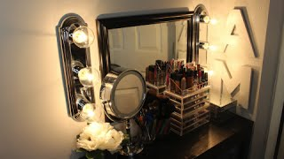 getlinkyoutube.com-DIY: Makeup Hollywood Vanity Lights