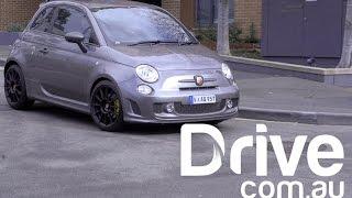 getlinkyoutube.com-Fiat 595 Abarth Competizione Review | Drive.com.au