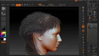 getlinkyoutube.com-Zbrush4R2b  and fun with FiberMesh