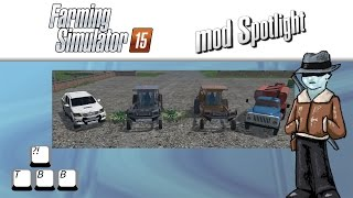 getlinkyoutube.com-Farming Simulator 15 Mod Spotlight - Gaz 53 vs Toyota Hilux