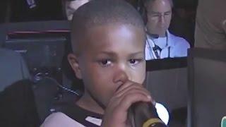 'LeBron James' Kid from Vine Introduces LeBron James