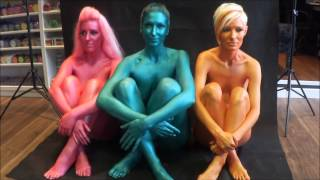 getlinkyoutube.com-New Superstar Face and Body Paint Colours