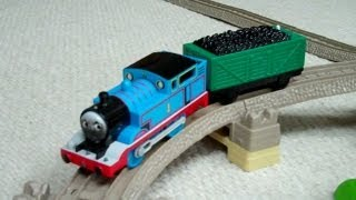getlinkyoutube.com-Thomas And Friends Talking Thomas & Friends Flip Face Trackmaster Kids Toy Train Set