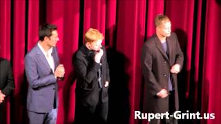 RG.us Exclusive: Rupert Grint after the Screening of The Necessary Death of Charlie Countryman 2