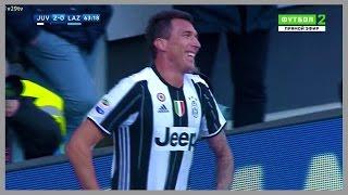 getlinkyoutube.com-Mario Mandzukic vs Lazio (Home) 22/01/2017 | HD