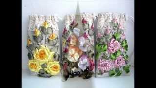 getlinkyoutube.com-Авторская Вышивка Лентами.Embroidery ribbons.
