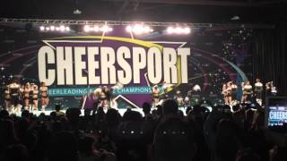 getlinkyoutube.com-Top Gun TGLC @ Cheersport Nationals 2016 Day 1