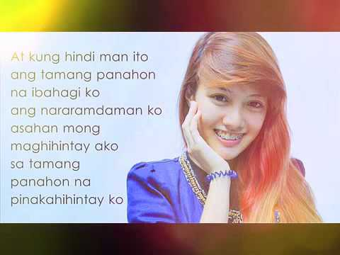 Kung Hindi Man    Mona Gonzales Lyrics