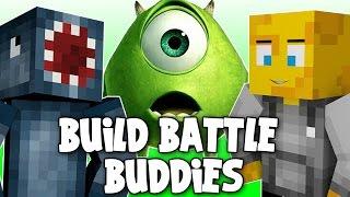 getlinkyoutube.com-Minecraft - Build Battle Buddies! MONSTERS INC! [1]