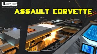 Space Engineers - MK2 Assault Corvette