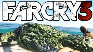 getlinkyoutube.com-Far Cry 3 Funny Moments (Hunting Rare Albino Crocodile, Woman in Trouble)