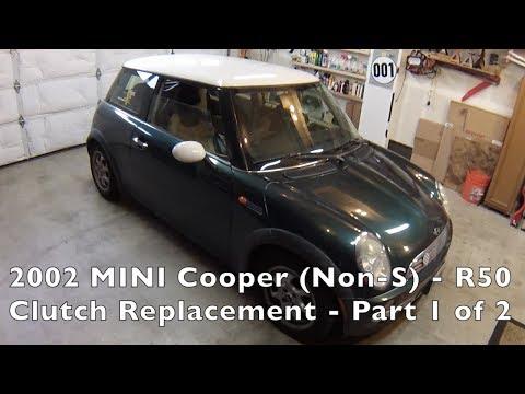 2002-06 MINI Cooper Non-S Clutch Replacement Part 1 of 2