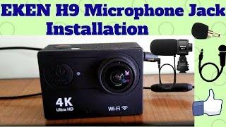 Installing 3.5mm Plug And Play Microphone jack in Eken H9 Action Camera!Easiest Method!