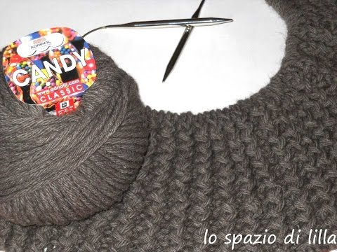lilla's tutorials: il punto coste zigzag ai ferri / Rickrack knitting stitch